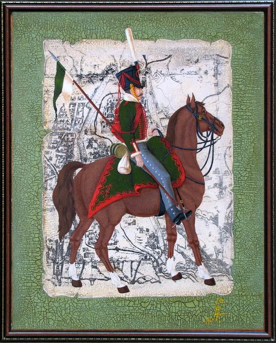 Павлоградский гусарский полк, рядовой (1812-1815)