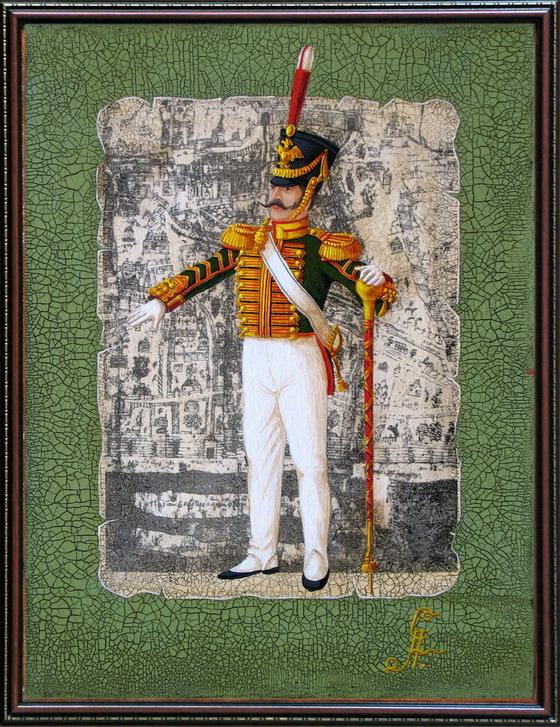 Drum-major of the Life Guards Regiment (1817-1826)